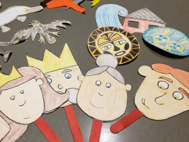 Fairy Tale Craft Stick Puppets