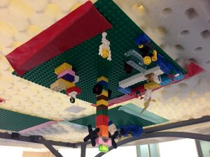Image of upside-down legos