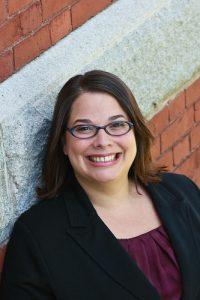 Headshot of ALSC Board candidate, April Mazza