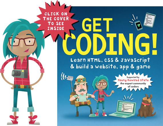 """Cover image of book """"Get Coding"""""""