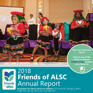 Friends of ALSC 2018 report