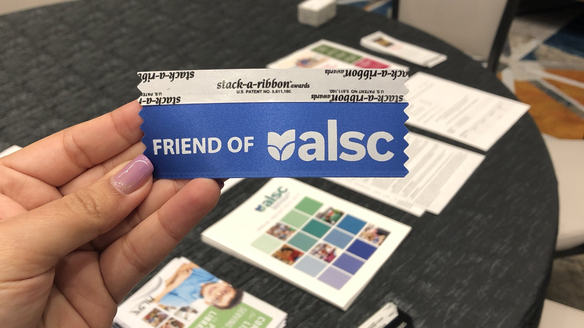 Friends of ALSC Ribbon