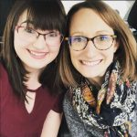 Photo of Allie Barton & Katherine Hickey