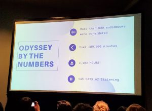 Odyssey by the numbers
