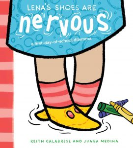Lena's Shoes Are Nervous book cover