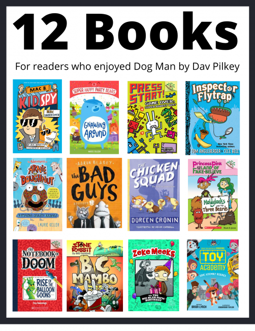 12 books for readers who liked Dog Man
