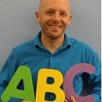 Headshot of Steve Fowler, co-author of Alphabet Storytime post