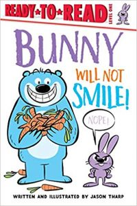 Bunny Will Not Smile Book Cover