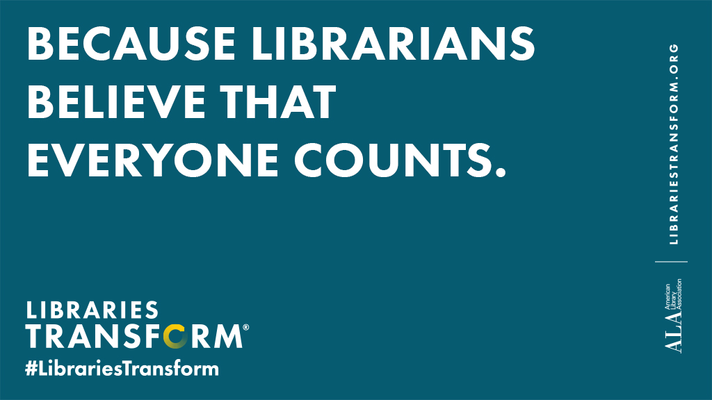 Census Day logo from #LibrariesTransform