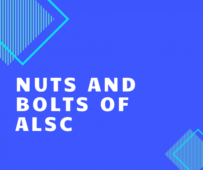Nuts and Bolts of ALSC committees