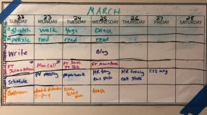 Self Care Schedule