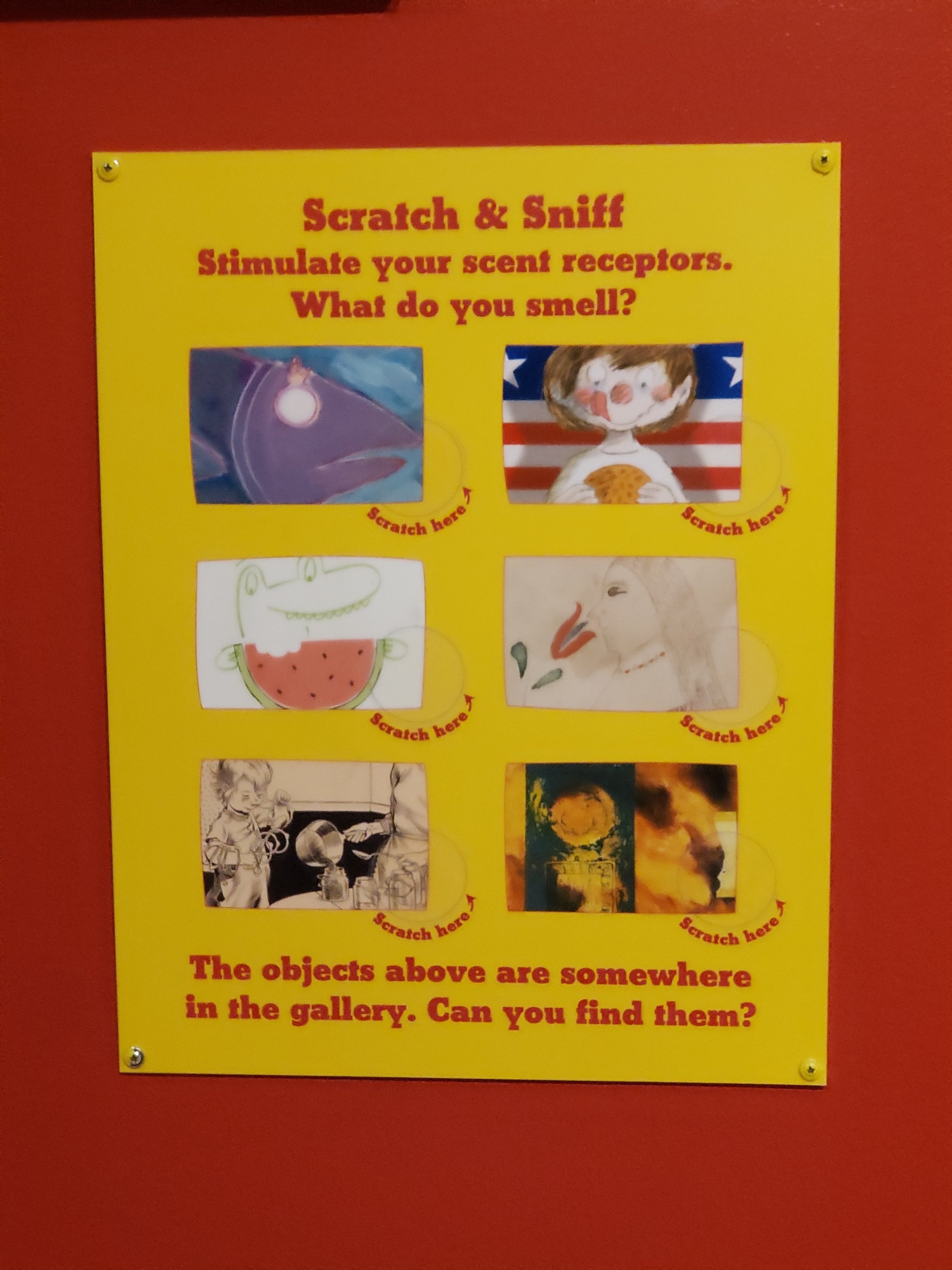 Smell: Scratch and Sniff Activity
