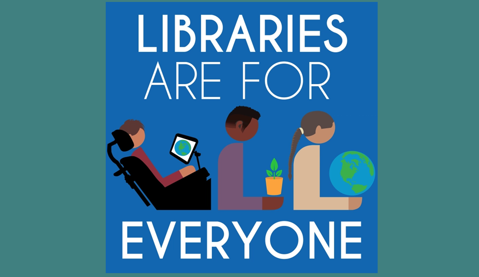 Libraries Are For Everyone by Hafuboti