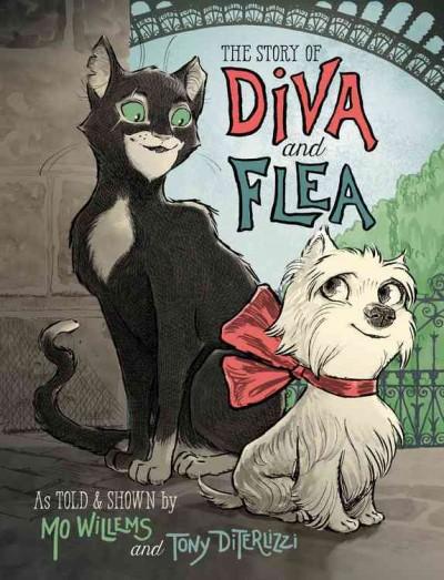 Diva and Flea book cover