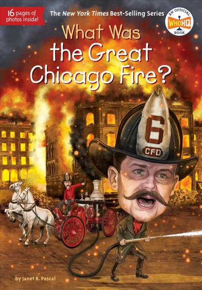 What Was the Great Chicago Fire? book cover