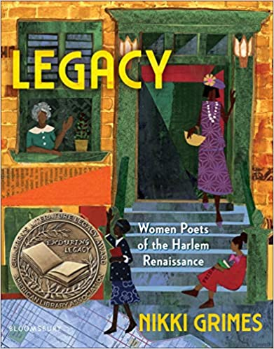 Legacy: Women Poets of the Harlem Renaissance book cover