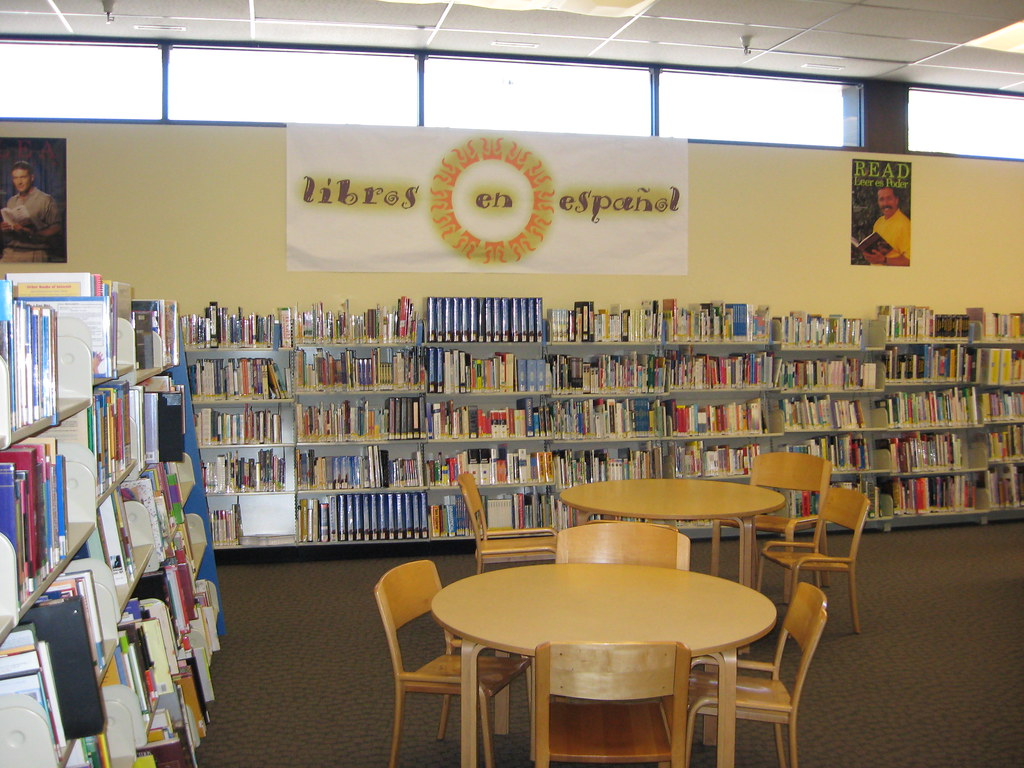 San Mateo County Libraries Spanish Section