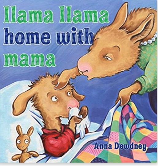 Llama Llama Home with Mama book cover