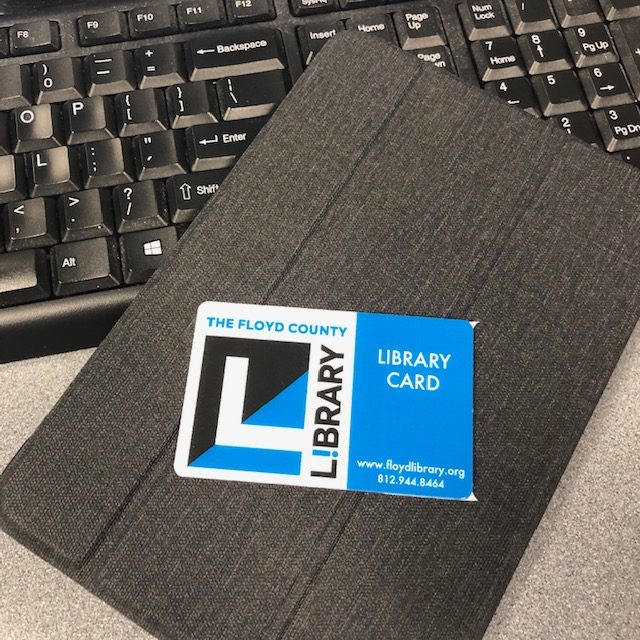 Student digital library cards give students access to resources at our library like e-books and databases