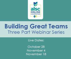 Building Great Teams Webinar Series